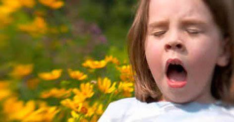 Признак аллергии - чиханье