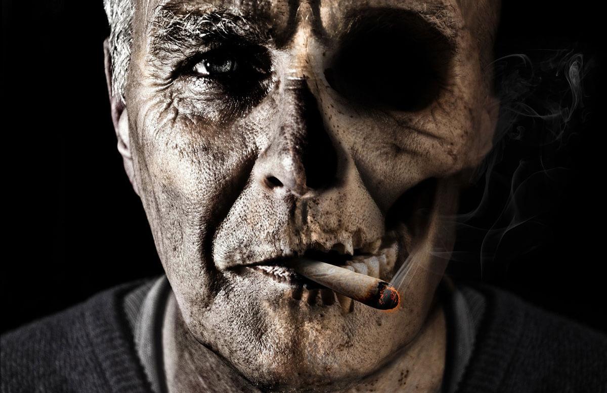 курение - смерть
