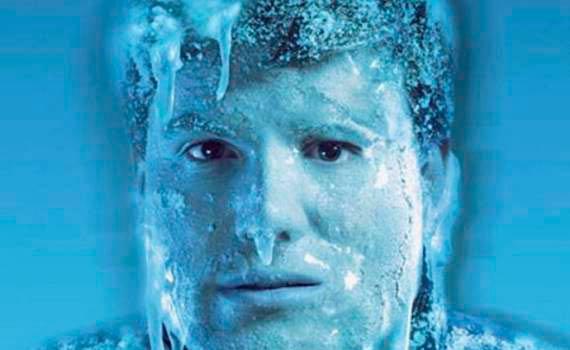 Замерзающий человек
