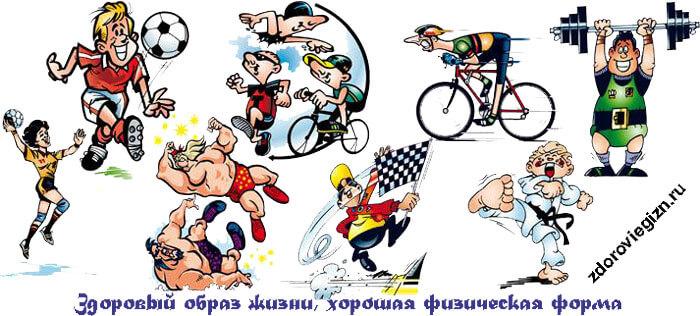 спорт и красота