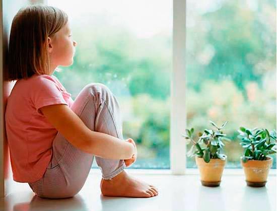 Ребенок дома один