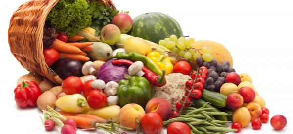 Разноцветные продукты